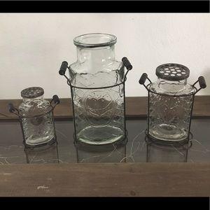 8-piece Flower Vase Set